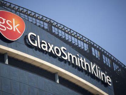 Imagen de las oficinas de GlaxoSmithKline en Londres.
