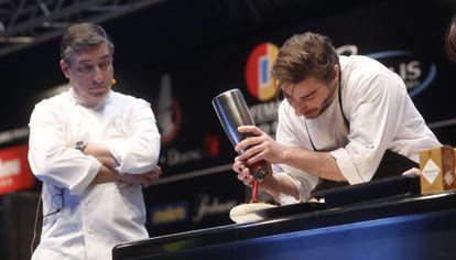 Joan y Jordi Roca, en Madrid Fusión esta semana.