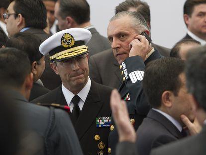 Cienfuegos, en sus años como secretario de la Defensa en México.