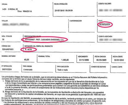 Contrato suscrito por una menor que, al carecer de DNI, se identificó por su fecha de nacimiento.