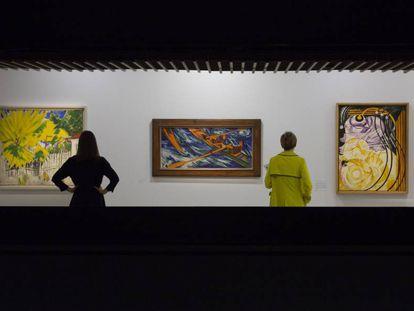 La muestra 'Modern Couples', en la galería Barbican de Londres.