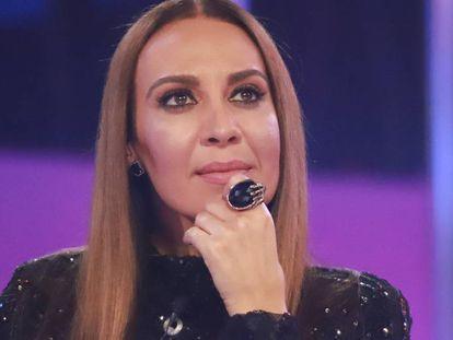 La cantante Mónica Naranjo en el plató de 'Operación Triunfo 2017'.