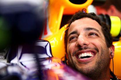 Ricciardo, este viernes en Interlagos.