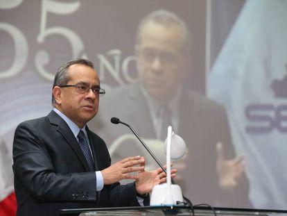 El ministro de Educación, Jaime Saavedra.