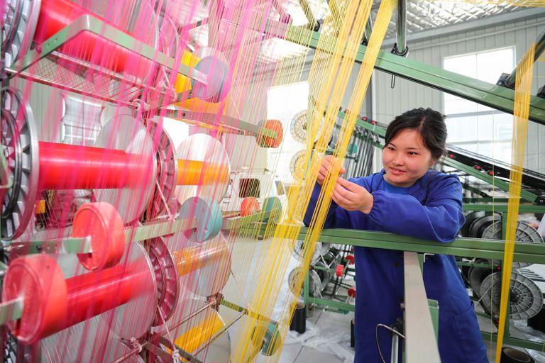Empresa de plásticos de Lianyungang, en la provincia china de Jiangsu.