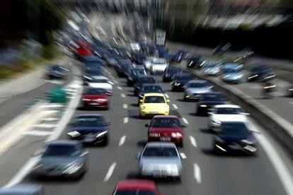 Tráfico en la A-6, la autovía del Noroeste, a la salida de Madrid, el pasado 29 de abril.