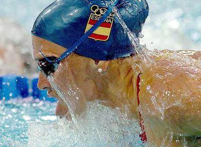 María Peláez, en los Juegos Olímpicos de Atenas 2004.