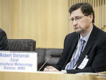 Robert Stefanski, experto de la Organización Meteorológica Mundial.