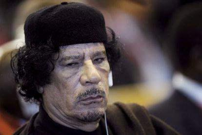 Muamar al Gadafi en Roma, en 2009.