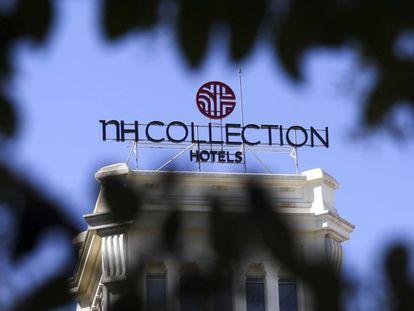 Hotel NH en el Paseo del Prado en Madrid.