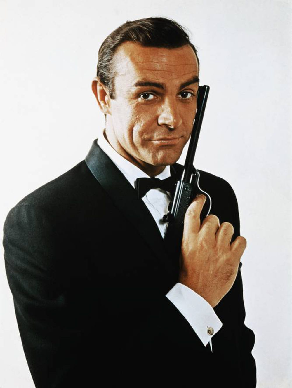 El actor Sean Connery, caracterizado de James Bond en 1968.