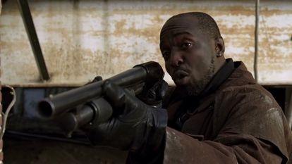 Michael K. Williams como Omar Little en 'The Wire'.