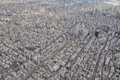 Vista de Tokio.