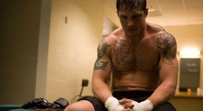 Tom Hardy en 'Warrior'