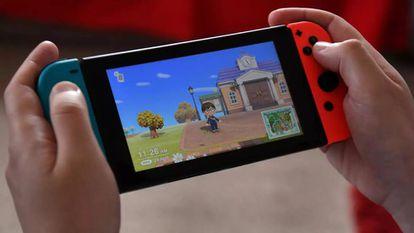 El videojuego 'Animal Crossing: New Horizons', en su versión para Nintendo Switch.