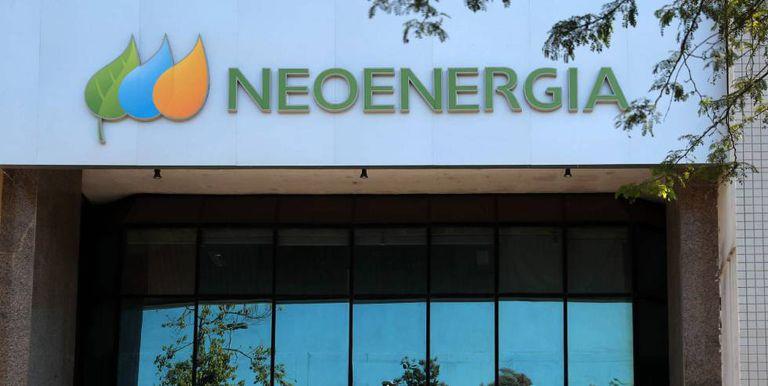 Fachada de la empresa Neoenergia en Rio de Janeiro (Brasil), en una imagen de archivo.