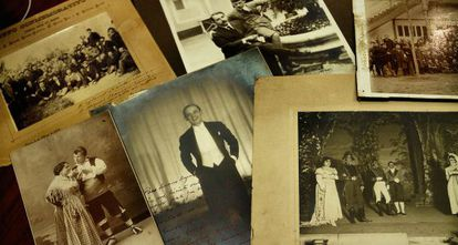 Fotografías del archivo de la SGAE.