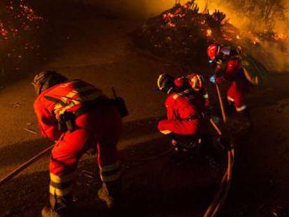 Ningún fuego amenaza ya a propiedades o viviendas en Galicia