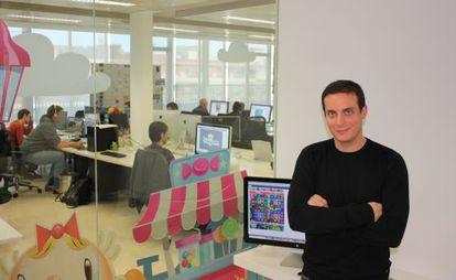 Manel Sort, director del estudio de King.com en Barcelona.