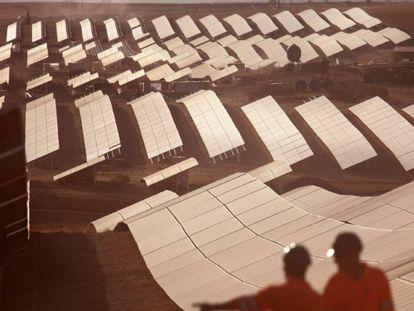 Planta fotovoltaica Balboa, en Castilla y León.