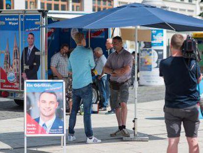 Un candidato de Alternativa por Alemania partía como favorito en Görlitz, una ciudad de 56.000 habitantes, frente a la oposición del resto de partidos