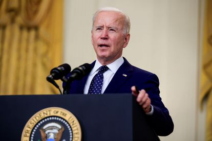 El presidente estadounidense Joe Biden el pasado jueves en la Casa Blanca.