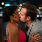 Zahra Newman and Rafe Spall, in 'A Little Setback'