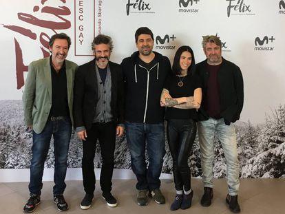 Imagen de la presentación de la serie 'Félix', creada por Cesc Gay para Movistar +.