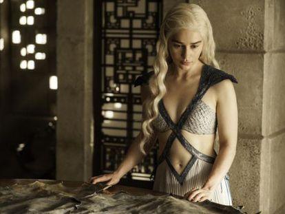 Emilia Clarke as Daenerys Targaryen in 'Game of Thrones.'