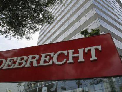 Sede de la constructora Odebrecht en Sao Paulo (Brasil) en diciembre de 2016.
