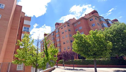 Edificio de la calle Montpellier 1, en Madrid.