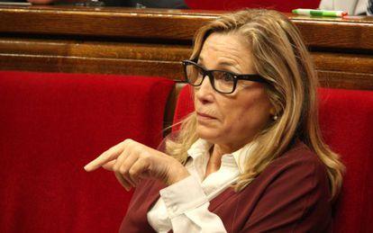 La vicepresidenta catalana, Joana Ortega