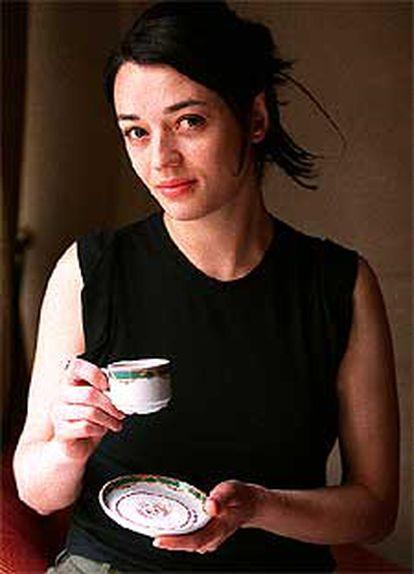 La cantante Carmen Consoli, el miércoles, en Madrid.