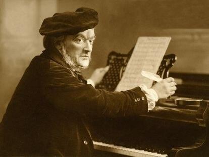Richard Wagner, en torno a 1875.