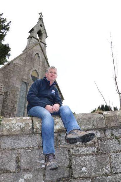 Hugh McEvoy, en Jonesborough (Irlanda del Norte).
