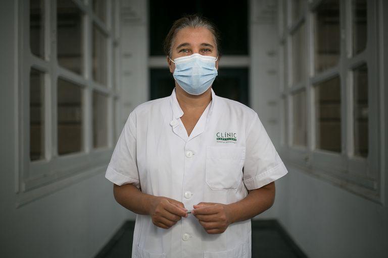 La médica Carolina García Vidal, especialista en enfermedades infecciosas del Hospital Clínic de Barcelona.