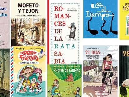 10 libros infantiles y juveniles.