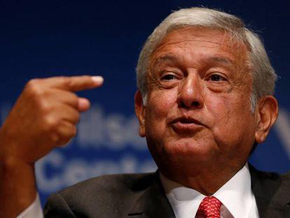 López Obrador, este martes en Washington.