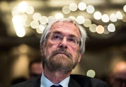 Peter Praet, ex economista jefe del BCE, en una imagen de 2019.