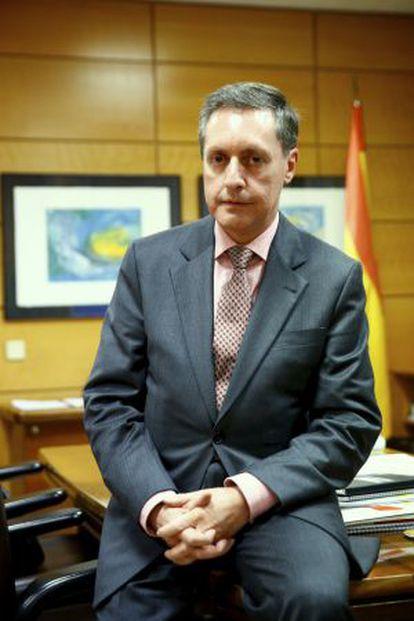 Santiago Menéndez, director general de la Agencia Tributaria.