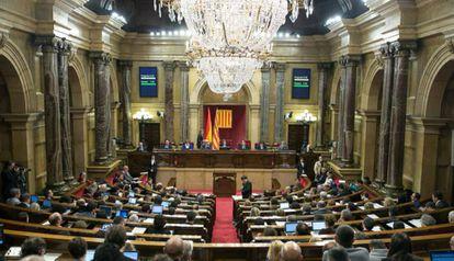 El Parlamento, en una imagen de archivo.