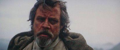 Los 30 segundos de Mark Hamill como Luke Skywalker en 'Star Wars: El despertar de la fuerza' le salieron muy rentables: entre uno y tres millones de euros.