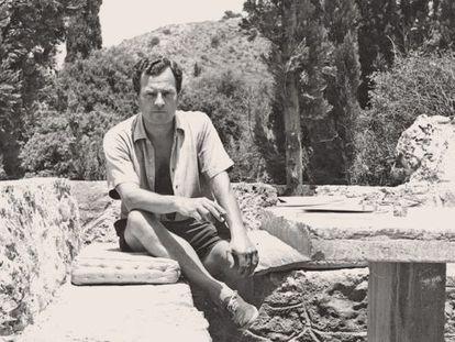 Patrick Leigh Fermor, en Grecia, retratado por su mujer, Joan.