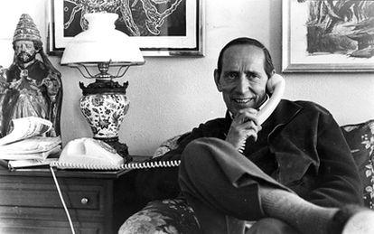 El escritor Miguel Delibes