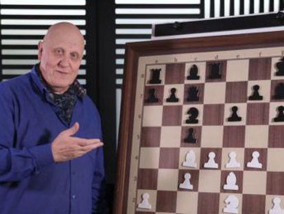 Uno de los más brillantes maestros soviéticos da una lección magistral de ataque y remata con hermosura