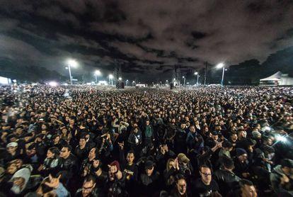 Más de 350.000 personas asistieron a Rock al Parque durante el fin de semana en Bogotá.