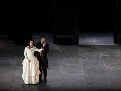 Los ensayos del 'Don Giovanni' subido a escena por Jonathan Miller y dirigido por Zubin Mehta que se estrena mañana viernes en el Palau de les Arts de Valencia.