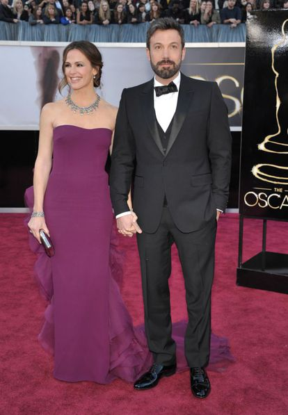 Jennifer Garner y Ben Affleck, en los Oscar de 2013.