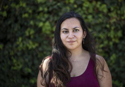 Natalia Aravena es una enfermera que perdió su ojo derecho durante las protestas masivas en 2019.