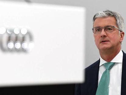 Rupert Stadler, consejero delegado de Audi, en mayo